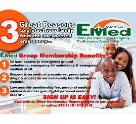 EMed Group Membership Jamaica